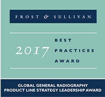 「2017 Global General Radiography Product Line Strategy Leadership Award」を受賞